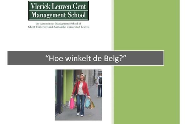 Hoe winkelt de Belg? Een retail rapport