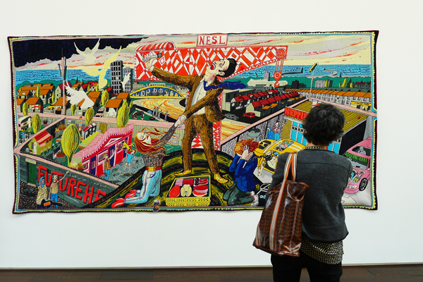 "wandkleed Grayson Perry ""The Agony in the Car Park"""