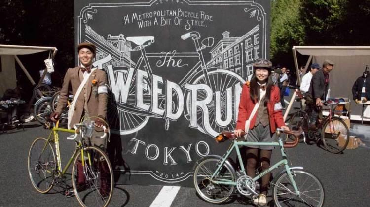 Tweed Run Tokyo 2014