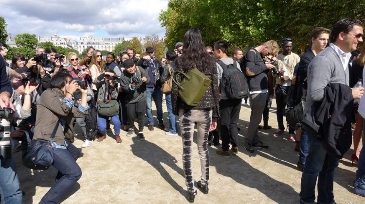Where are the fashion shows in Paris?
