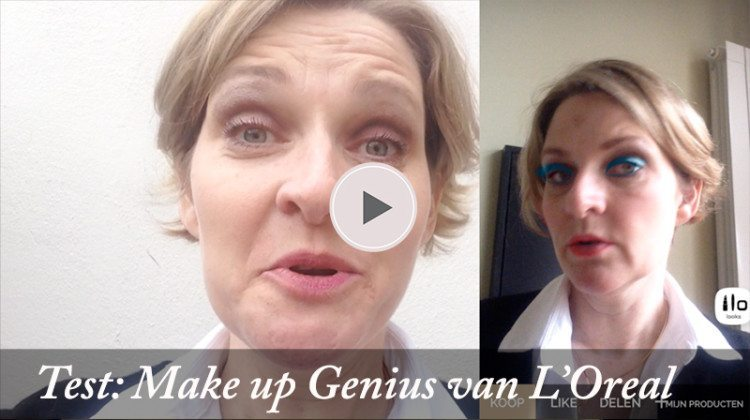 L'oreal app Make-up Genius