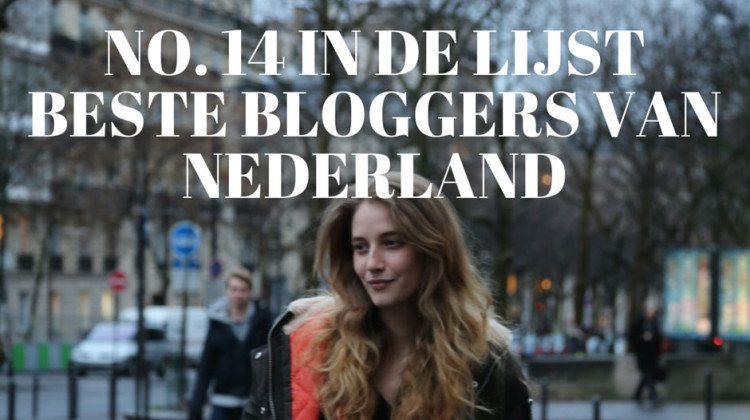 Trendbubbles staat no. 14 in de lijst Beste Bloggers van Nederland