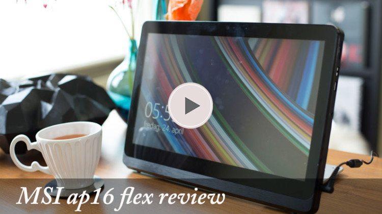 Onverwachte mogelijkheden met MSI AP16 Flex computer