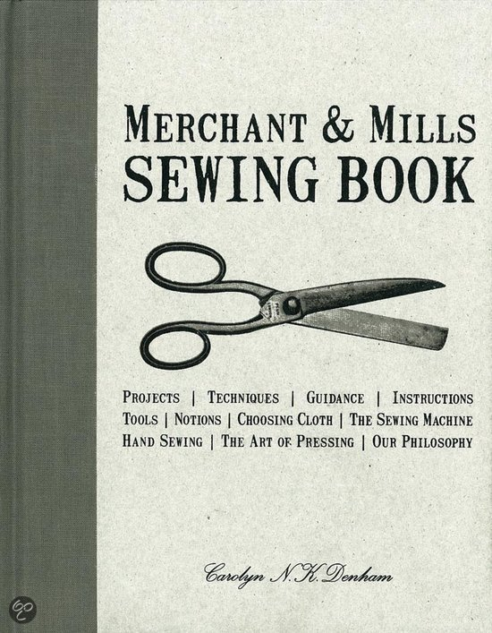 Merchant and mills Sewing Book