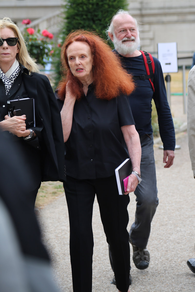 Vogue Editor Grace Coddington, Street Style Maison Margiela