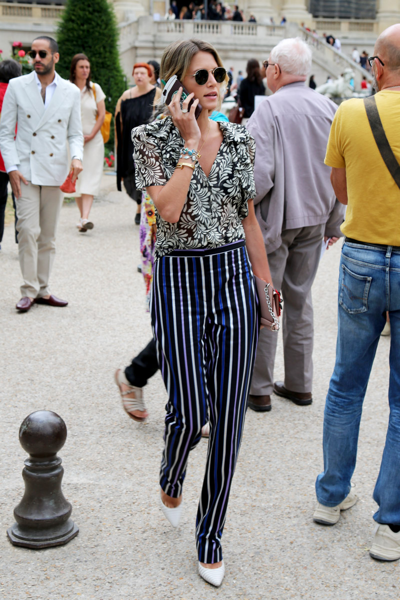 Miroslava Duma Smashing Haute couture Street Style mode trends