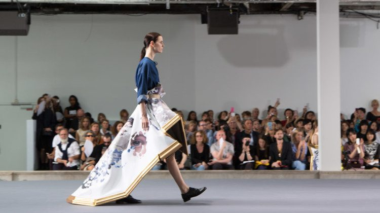 Viktor & Rolf 'Action Paintings' Haute Couture Fall/Winter 2015