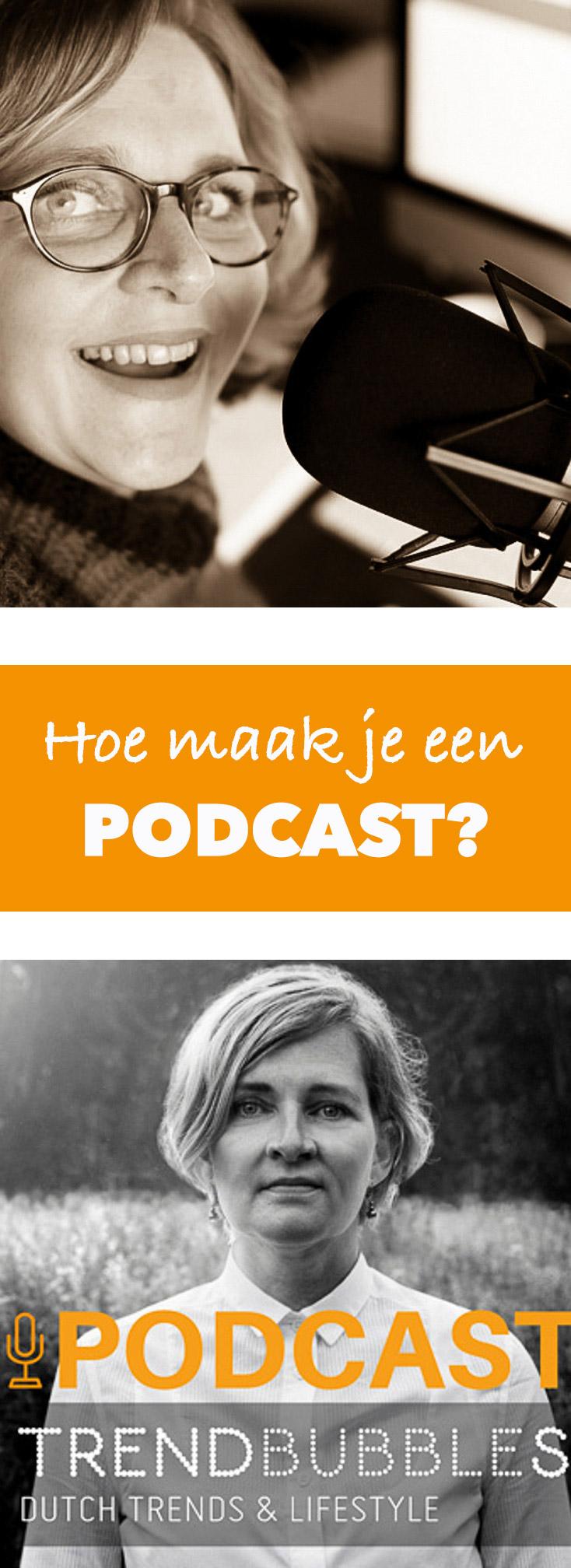 Een podcast show starten hoe doe je dat? | trendbubbles.nl