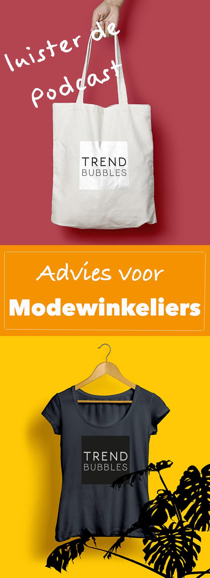 Luister naar de podcast met advies voor modewinkeliers en retailers | trendbubbles.nl