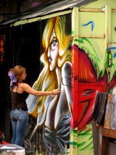 Berlin Street Art, Madonna