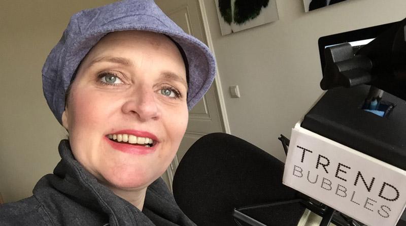 017- Hoofdbedekking tijdens chemo met Joyce Boddaert van Mooihoofd. Over Chemo, mutsjes, sjaals en petten.   trendbubbles.nl