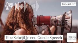 Hoe Schrijf Je een Goede Speech