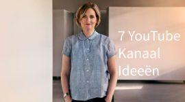 7 YouTube kanaal ideeen | trendbubbles.nl
