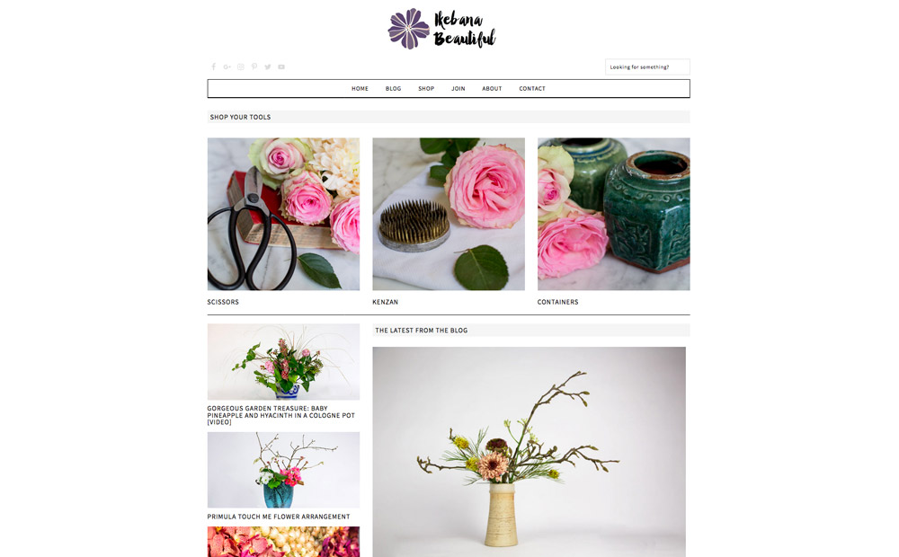Bloemen blog Ikebana Beautiful door Desiree Castelijn