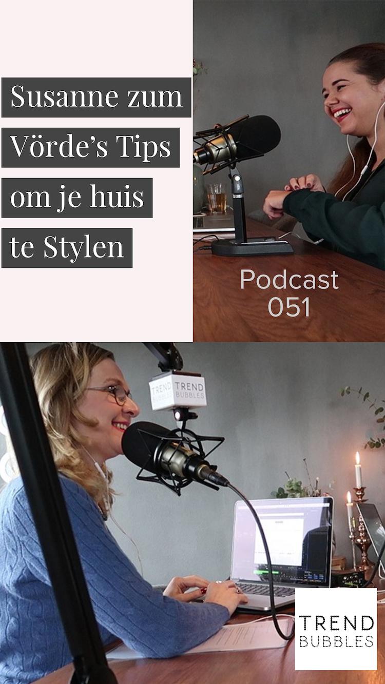 Susanne zum Vörde's Tips om je huis te Stylen