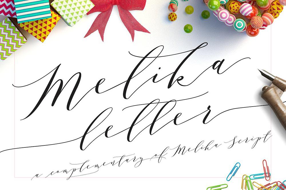 Melika lettertype