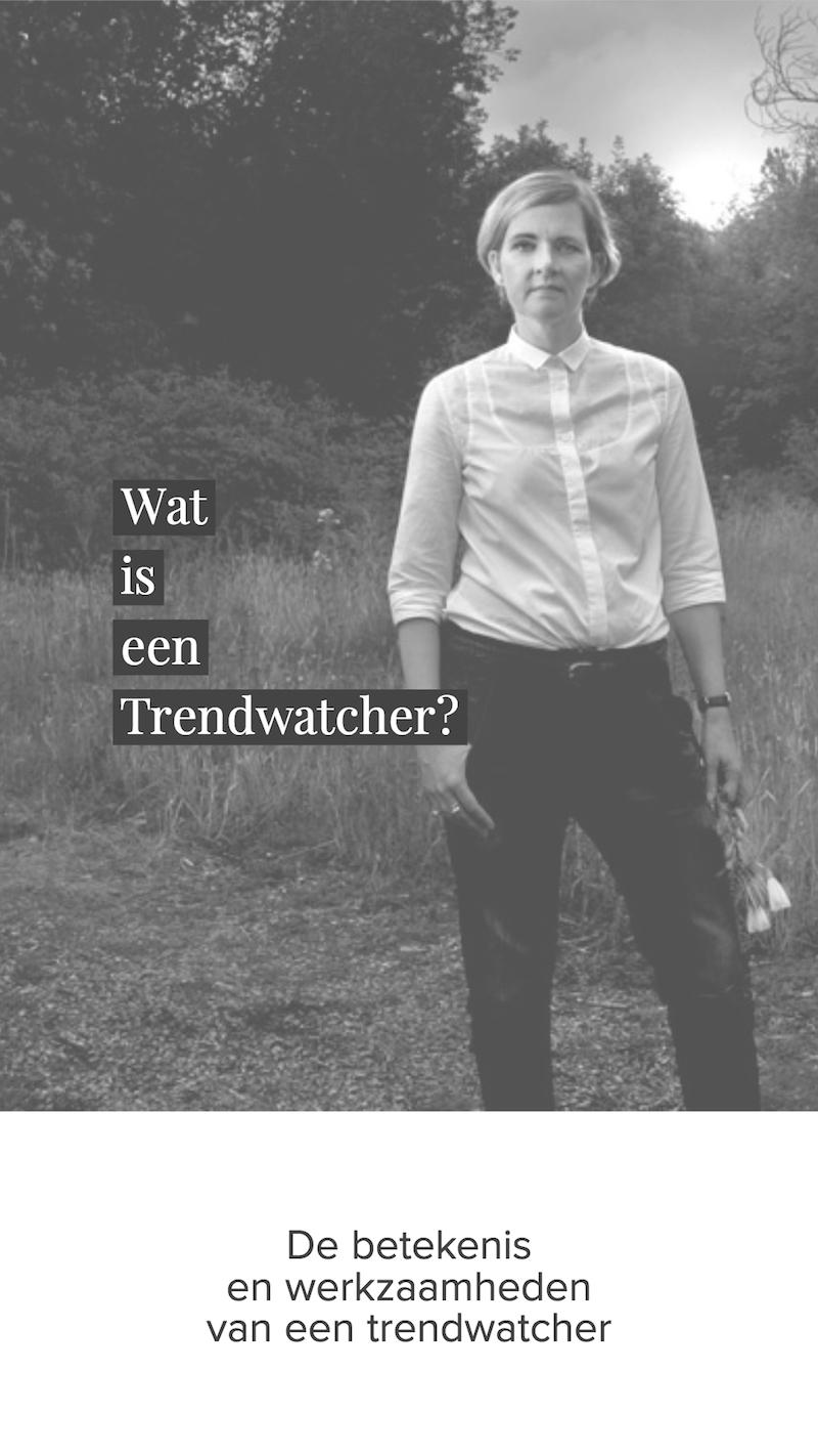 Wat is een Trendwatcher? De betekenis en werkzaamheden van een trendwatcher.