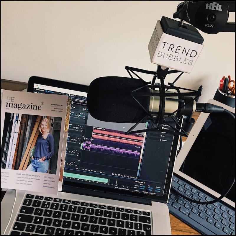 Trendbubbles podcast show 'Ik ben dankbaar voor'