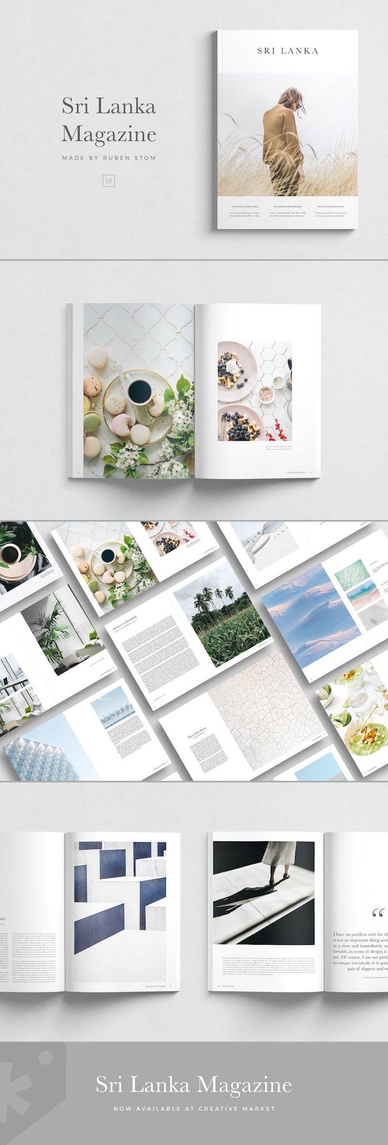 Magazine templates, speciaal voor jou uitgezocht!
