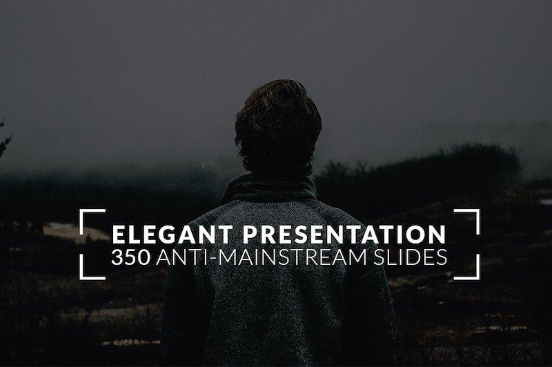 Trendy PowerPoint presentatie