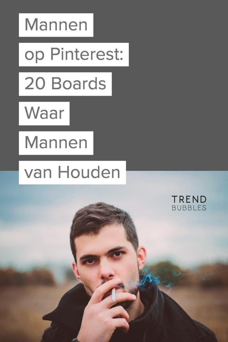 Er komen steeds meer mannen op Pinterest. Trendbubbles nam ze eens onder de loep. Wat pinnen ze en wie zijn opmerkelijke mannelijke pinners?