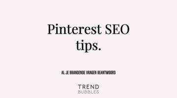 Pinterest SEO tips, al je brandende vragen beantwoord