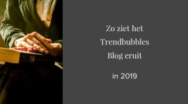 Zo ziet het Trendbubbles Blog eruit in 2019