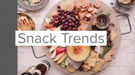 Snack trends in zout en zoetwaren