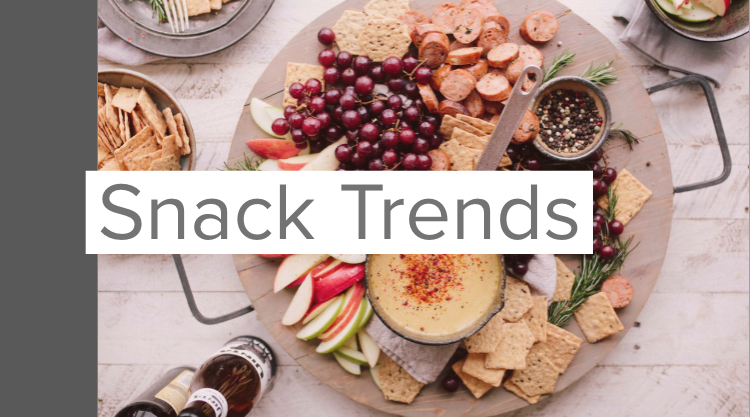 Snack trends in zout en zoetwaren