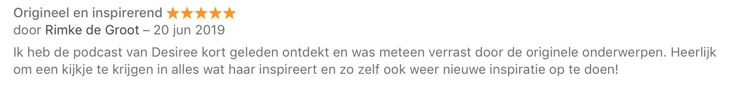 recensie Rimke De Groot
